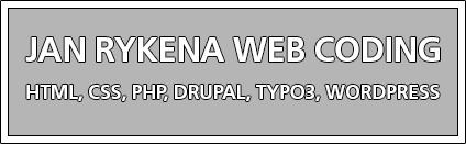 Jan Rykena - Web Coding